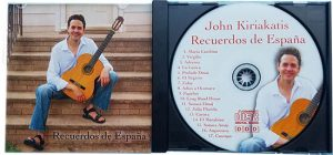 John Kiriakatis Music CD